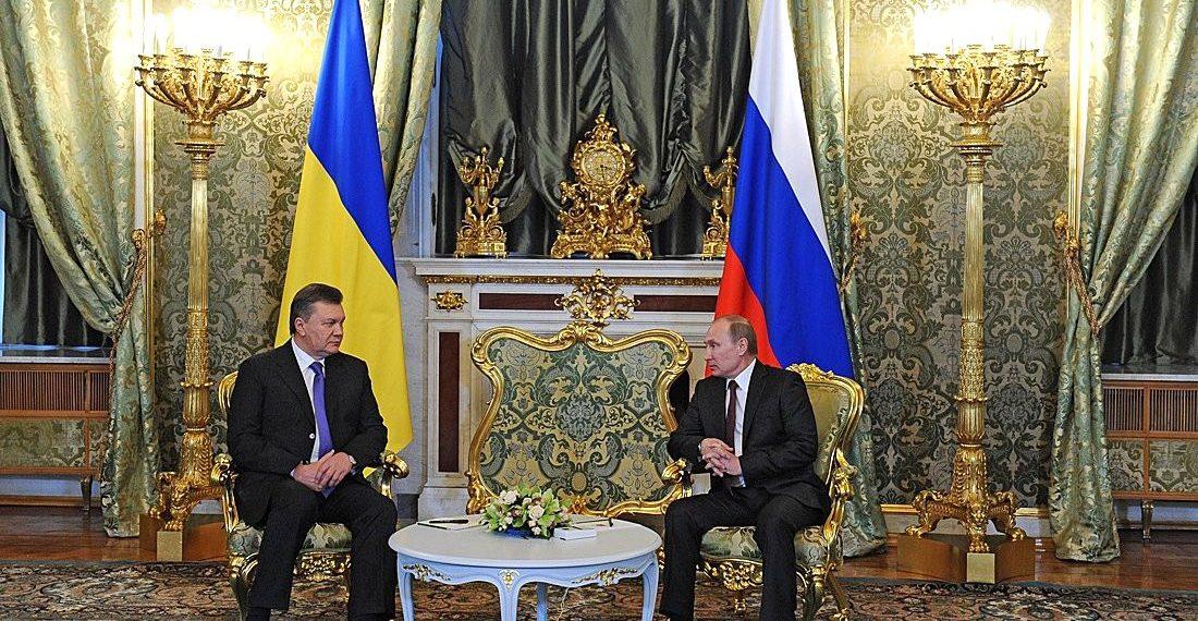 Putin with Yanukovych